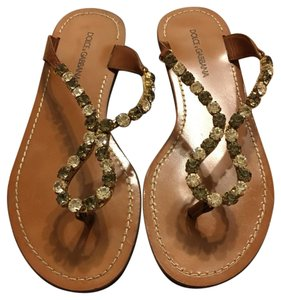 Dolce&Gabbana Tan Sandals