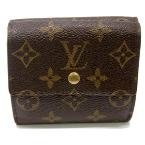 Louis Vuitton Louis Vuitton Signature LV Monogram Double Bi Fold Wallet