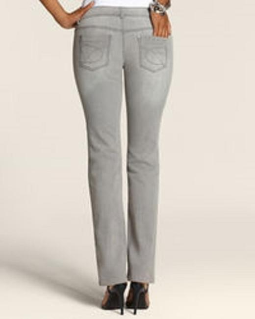 Chico's Straight Leg Jeans-Medium Wash Image 1