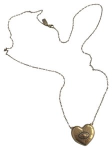 PAMELA LOVE Pamela Love Bronze Heart Evil Eye Necklace