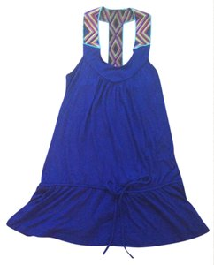 Just Ginger Racer-back Medium Top Royal Blue