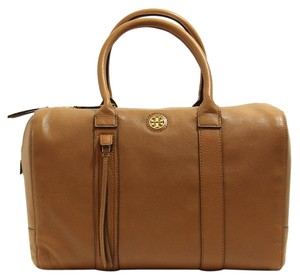 Tory Burch Handbag Brody Satchel in Brown