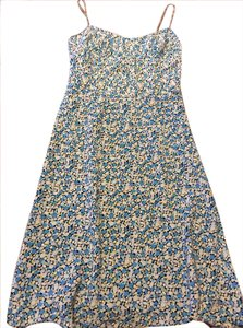 Express short dress Blue Dot Spring Summer on Tradesy