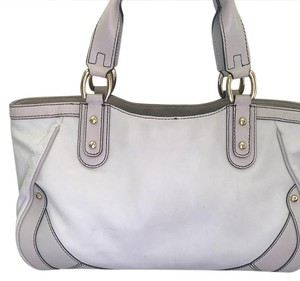 Cole Haan Tote Color Color Satchel in Champagne and sand