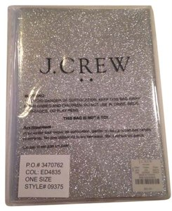 J.Crew J. Crew Silver/Glitter Notebook (with lines)