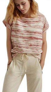 Lou & Grey Red Striped Top Pottery Red