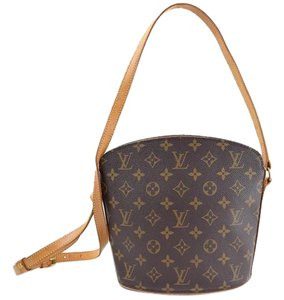 Louis Vuitton Drouot Monogram Brown Cross Body Bag