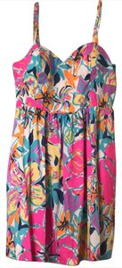 Lilly Pulitzer short dress Multi color,Pink, Yellow, Blue Summer on Tradesy