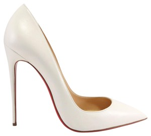 Christian Louboutin So Kate 120mm White So Kate 41.5 Neige Pumps