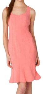 Badgley Mischka Ruffle Pink Luxury Dress
