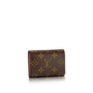 Louis Vuitton Louis Vuitton Monogram Leather Business Card Holder Wallet