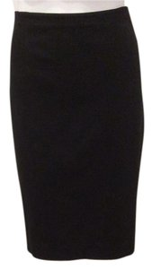 Ann Taylor Stretchy Spandex Pencil Skirt Black