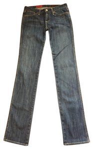 AG Adriano Goldschmied Straight Leg Jeans-Medium Wash