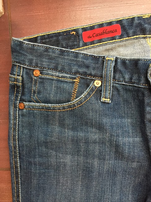 AG Adriano Goldschmied Straight Leg Jeans-Medium Wash Image 2