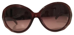 Fendi fendi round oversized sunglasses