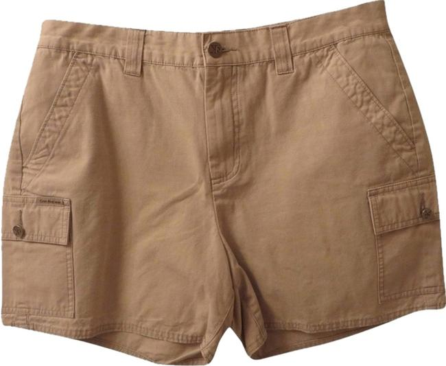 Preload https://item2.tradesy.com/images/calvin-klein-khaki-athletic-shorts-size-12-l-32-33-2077121-0-0.jpg?width=400&height=650