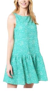 cupcakes and cashmere short dress green Drop Waist Chiffon on Tradesy
