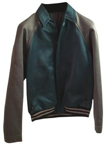 Lanvin Grey, Green (Emeraude) Jacket