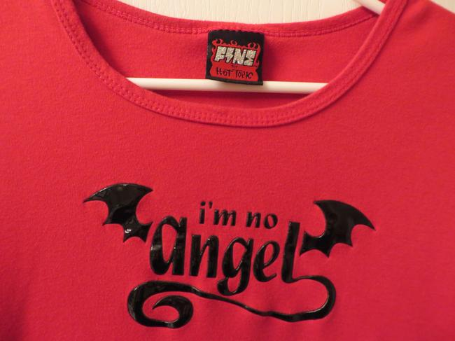 Hot Topic Vintage T Shirt Red