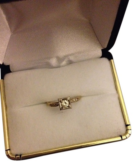 Other 14K Yellow Gold Engagement or Pinky Finger Ring