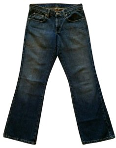Polo Ralph Lauren Kelly Boot Cut Jeans-Dark Rinse