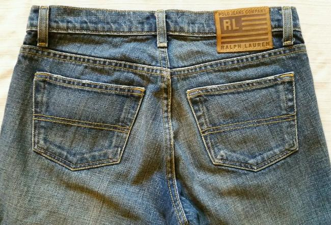 Polo Ralph Lauren Kelly Boot Cut Jeans-Dark Rinse Image 2