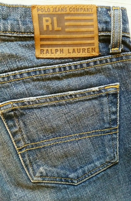 Polo Ralph Lauren Kelly Boot Cut Jeans-Dark Rinse Image 5