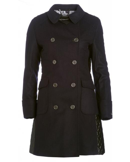Barbour Lieutenant Leather Trench Cashmere Military Jacket Image 10
