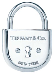 Tiffany & Co. Tiffany & Co Silver Large Arc Lock New York Pad Lock Pendant Charm
