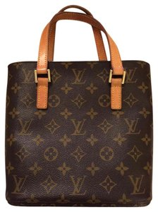 Louis Vuitton Luxury Leather Tote in Monogram