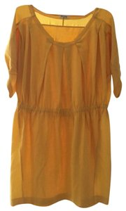 Miu Miu short dress Yellow on Tradesy
