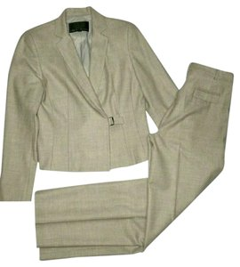 Yansi Fugel Yansi Fugel Tan Pant Suit Pant 4, Jacket 6