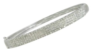 Other 0.50ctw genuine diamond, sterling silver, bangle, bracelet