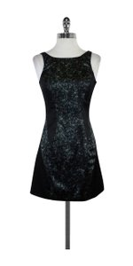 AllSaints short dress Black Green Gold Splatter Print Heidi on Tradesy