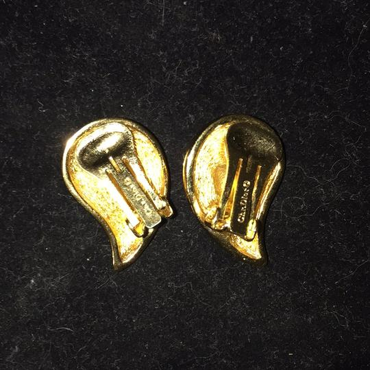 Dior Christian Dior Clip Earrings Image 1