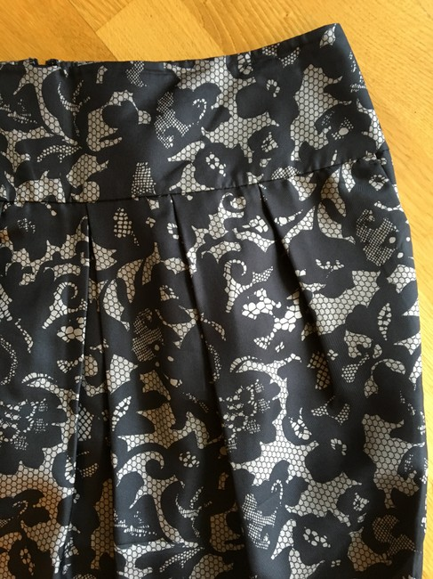 Banana Republic Professional Fancy Work Appropriate Silk Skirt gray Image 2