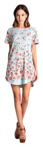 Amor Adore short dress Floral Print Knit on Tradesy