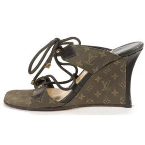Louis Vuitton green Sandals