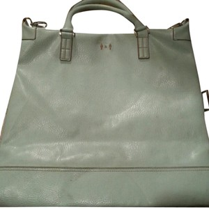 Matt & Nat Leather Tote in blue
