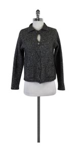 Eileen Fisher Grey Wool Blend Sweater