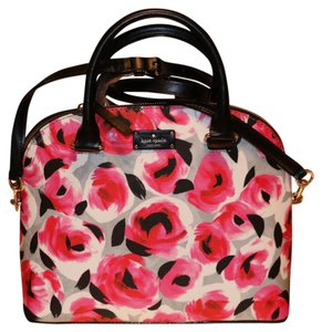 Kate Spade Satchel in pink, black