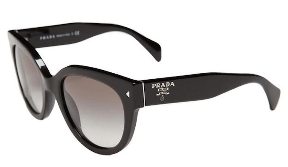 568012da584e Prada Black 54mm Cat Eye Spr17o Spr170 Cateye Heritage Spr 170 Retro 54  Sunglasses