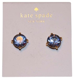 Kate Spade light blue studs