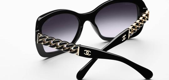 Chanel 5305 Square Chain Link Quilted CC Logo Wayfarer Classic Tweed Image 10
