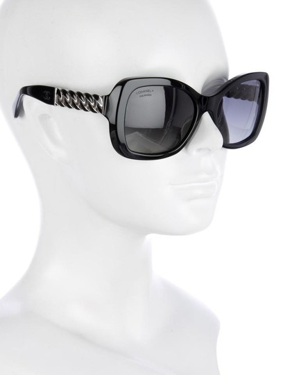Chanel 5305 Square Chain Link Quilted CC Logo Wayfarer Classic Tweed Image 11