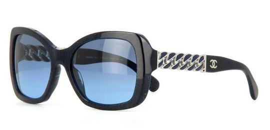 Chanel 5305 Square Chain Link Quilted CC Logo Wayfarer Classic Tweed Image 2