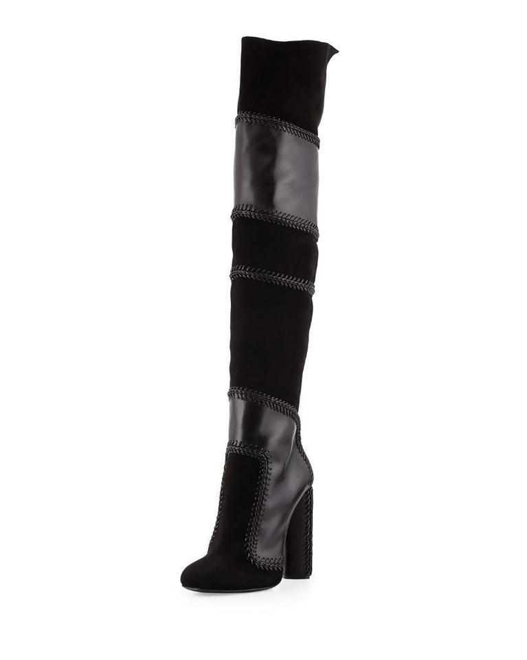These sexy thigh high boots feature a front lace-up closure, an inside zipper closure, adjustable velcro straps, a 6 inch heel, and a 1 3/4 inch platform. | 6