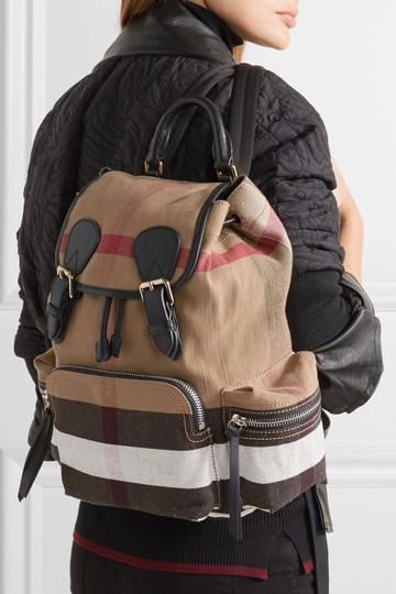 Burberry Canvas Check Backpack