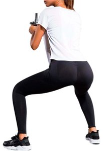The Lucky Elephant WOMEN'S COMPRESSION YOGA PANTS WITH SUPER TUSH TRAINER
