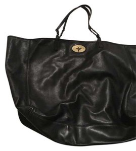 Mulberry Tote in black